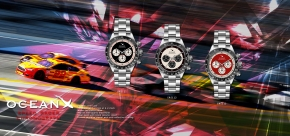 OceanX - Speed Racer Chronograph / SRS111, SRS112 & SRS113