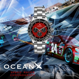 OceanX - Speed Racer Chronograph / SRS114