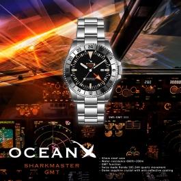 OceanX - Sharkmaster GMT / SMS-GMT-111