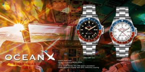 OceanX - Sharkmaster GMT / SMS-GMT-211 & SMS-GMT-212